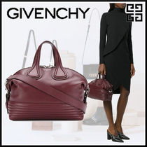 GIVENCHY NIGHTINGALE Casual Style 2WAY Plain Leather Shoulder Bags d113065c60053