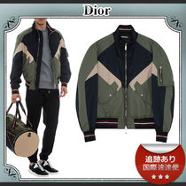 DIOR HOMME MA-1 Bomber Jackets