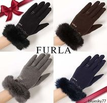 FURLA Elegant Style Smartphone Use Gloves
