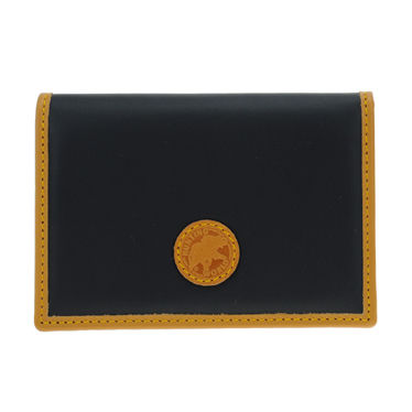 Unisex Bi-color Plain Card Holders