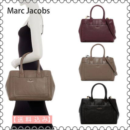 Marc Jacobs Handbags Casual Style 2way Plain Leather 13