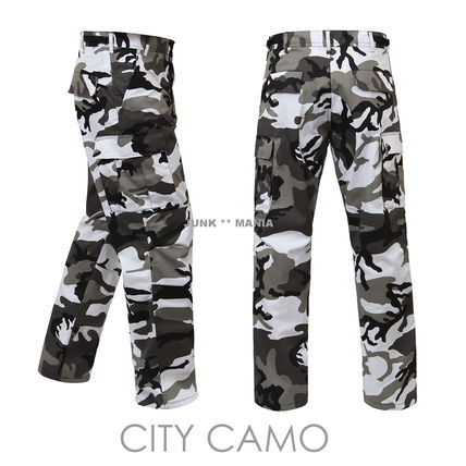 ROTHCO Camouflage Casual Style Street Style Pants
