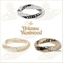 Vivienne Westwood Unisex Party Style Silver Rings