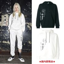 Alexander Wang Unisex Sweat Street Style Collaboration Oversized Hoodies