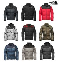 THE NORTH FACE Nuptse Short Camouflage Fur Plain Down Jackets