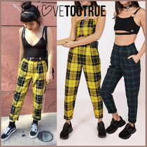 Tartan Other Check Patterns Casual Style Street Style Medium