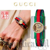 GUCCI Casual Style Square Quartz Watches Analog Watches