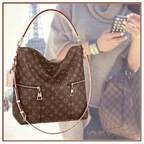 Louis Vuitton MONOGRAM Monoglam Cambus 3WAY Bi-color Elegant Style Handbags