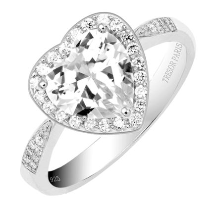 Party Style Silver 18K Gold Rings