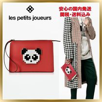 Les Petits Joueurs Casual Style Unisex Plain Other Animal Patterns Leather