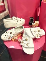 MARC JACOBS Flower Patterns Platform Round Toe Casual Style Street Style