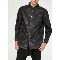 Camouflage Long Sleeves Shirts