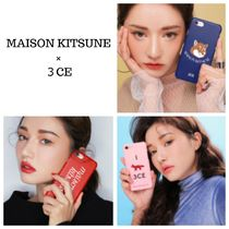 MAISON KITSUNE Collaboration Other Animal Patterns Smart Phone Cases