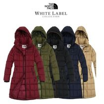 THE NORTH FACE Casual Style Plain Medium Down Jackets