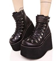 DEMONIA Street Style Plain Shoes
