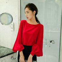 Short Long Sleeves Plain Party Style Cropped