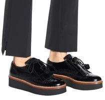 TOD'S Casual Style Unisex Leather Party Style Office Style