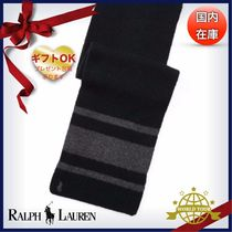 Ralph Lauren Stripes Wool Scarves