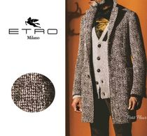 ETRO Tweed Long Chester Coats