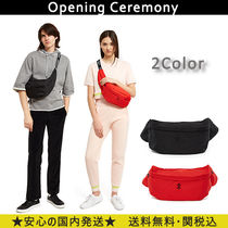 OPENING CEREMONY Unisex Street Style Plain Messenger & Shoulder Bags