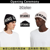 OPENING CEREMONY Unisex Street Style Knit Hats