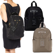 MARC JACOBS Casual Style Nylon Street Style Plain Backpacks