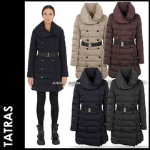 TATRAS Plain Long Elegant Style Down Jackets