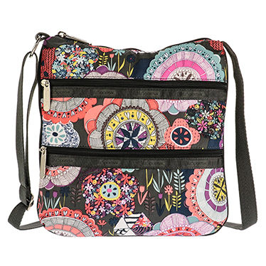 Paisley Casual Style Nylon Street Style 2WAY Shoulder Bags