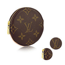 Louis Vuitton MONOGRAM Monoglam Leather Coin Purses