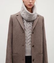 COS Casual Style Wool Plain Detachable Collars