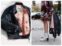 Acne Short Casual Style Street Style Plain Jackets