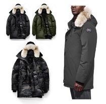 CANADA GOOSE CHATEAU Fur Plain Down Jackets