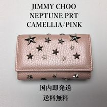 Jimmy Choo Star Studded Leather Keychains & Bag Charms
