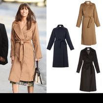 MaxMara MANUELA Plain Long Coats