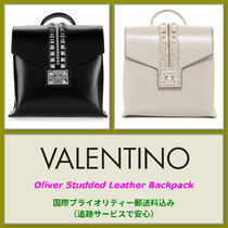 VALENTINO VALENTINO Oliver Studded Leather Backpack