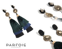 PARFOIS Costume Jewelry Party Style Fringes Earrings & Piercings