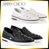 Jimmy Choo Leather Loafers & Slip-ons