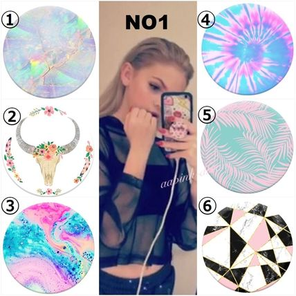 Tropical Patterns Tie-dye Smart Phone Cases