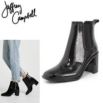 Jeffrey Campbell Plain Chelsea Boots PVC Clothing Ankle & Booties Boots