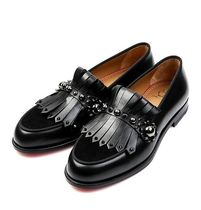 Christian Louboutin Loafers Studded Fringes Loafers & Slip-ons
