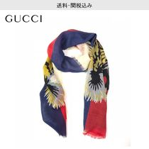 GUCCI Wool Other Animal Patterns Scarves