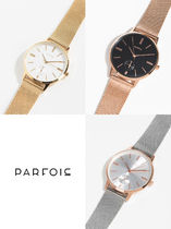 PARFOIS Round Office Style Analog Watches