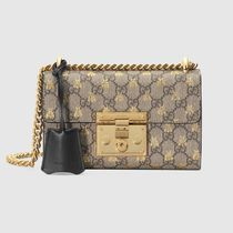 GUCCI 2WAY Other Animal Patterns Leather Shoulder Bags