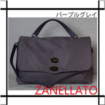 ZANELLATO Nylon A4 2WAY Handbags