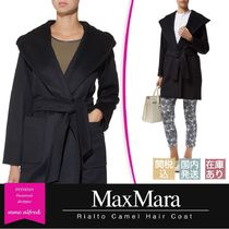 MaxMara RIALTO Wool Plain Medium Wrap Coats
