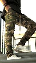 dsrcv Camouflage Street Style Cargo Pants