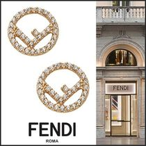 FENDI Costume Jewelry Party Style Earrings & Piercings