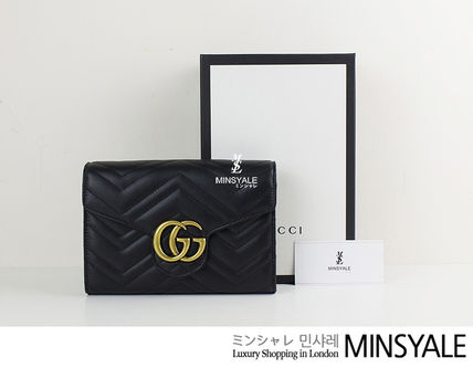 12881455cb2 ... GUCCI Shoulder Bags Matelassé mini bag  London department store new  item  ...