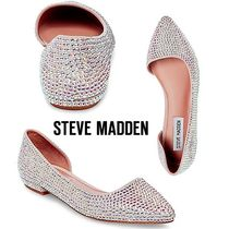 Steve Madden Faux Fur Plain With Jewels Slip-On Shoes