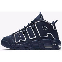 Nike AIR MORE UPTEMPO Casual Style Street Style Plain Low-Top Sneakers